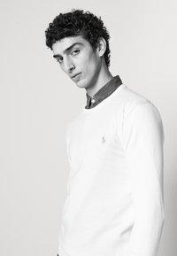 Polo Ralph Lauren - LONG SLEEVE - Stickad tröja - antique cream - 4