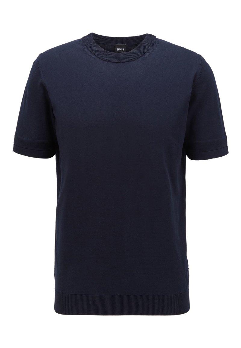 BOSS - IMATTEO - Basic T-shirt - dark blue