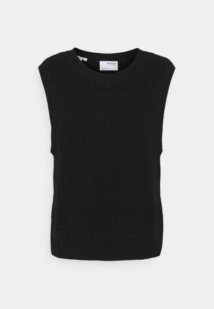 SLFTAY VEST O-NECK - Jumper - black