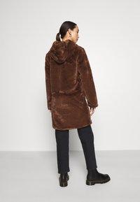 JDY - JDYTIT LONG - Classic coat - pinecone - 2