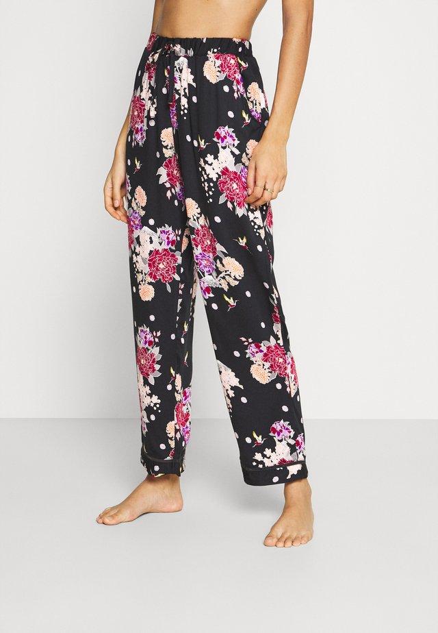KIKU FLORAL LUXE TROUSER - Pyžamový spodní díl - multi