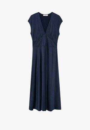 Korte jurk - bleu nuit