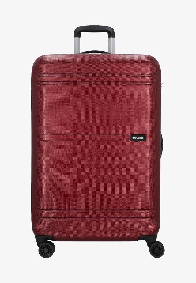 YAMBA  - Wheeled suitcase - red