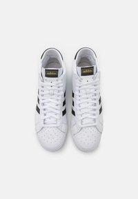 adidas Originals - BASKET PROFI UNISEX - High-top trainers - footwear white/core black/gold metallic - 3