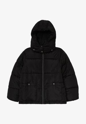 STEHKRAGEN KAPUZE - Winter jacket - schwarz