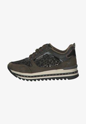 Sneakers laag - dunkelbraun