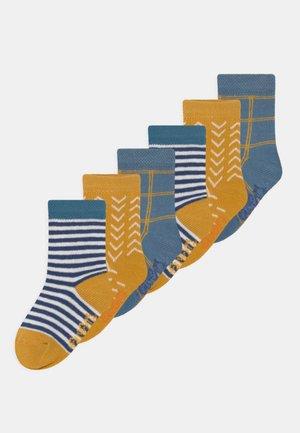 CHECKS 6 PACK UNISEX - Socks - multi-coloured