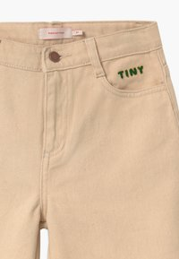 TINYCOTTONS - SOLID BAGGY UNISEX - Džíny Relaxed Fit - cream - 2