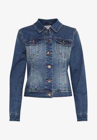 PULZ - Denim jacket - blue denim - 6