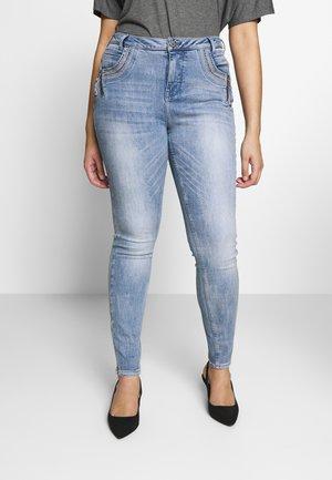 LONG - Jeans Skinny Fit - light blue denim