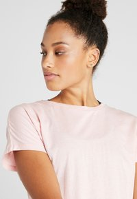 Cotton On Body - DROP SLEEVE TIE BACK - T-shirt print - soft cameo pink marle - 3
