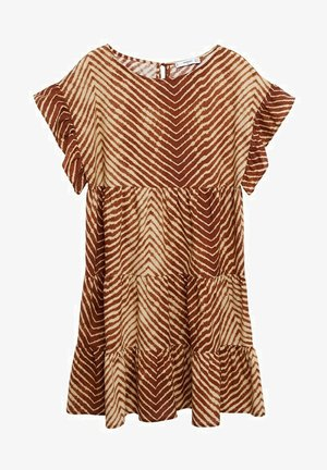 Day dress - marron