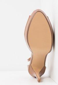 Dorothy Perkins - SORBET PLATFORM - Sandaler med høye hæler - nude - 6