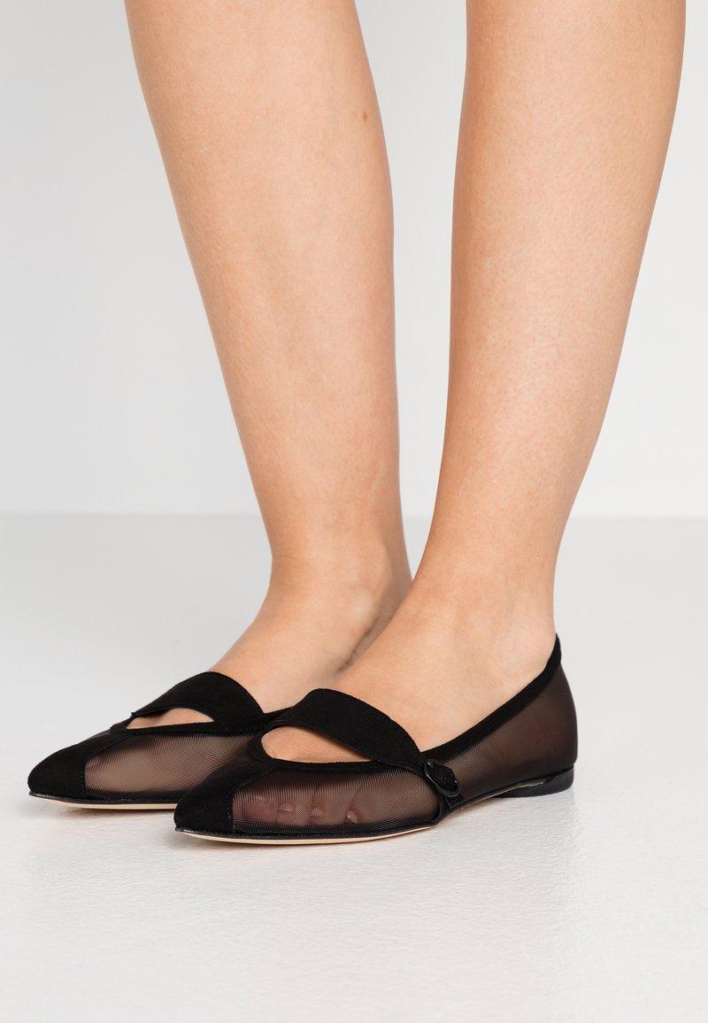 Repetto - MYLEN - Ankle strap ballet pumps - noir