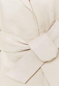 DAY Birger et Mikkelsen - DAY GROW - Leather jacket - ivory - 5
