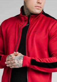 SIKSILK - IMPERIAL ZIP THROUGH HOODIE - Zip-up sweatshirt - dark red - 4