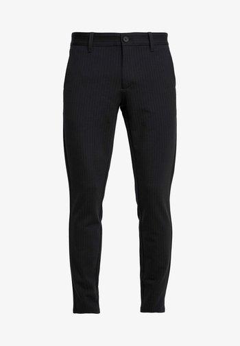 ONSMARK PANT STRIPE - Trousers - black