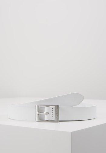 OCTAVIA - Belt - white