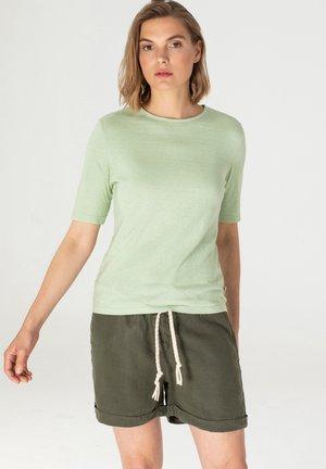 T-shirt basic - ocean green