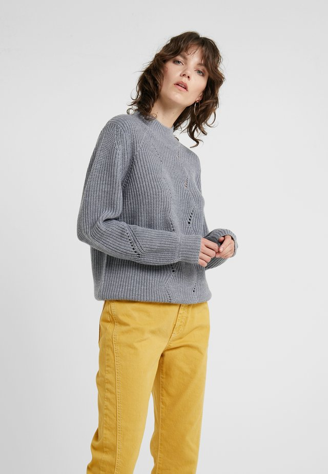 Jumper - blue/grey