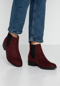 Dorothy Perkins - MORGAN CHELSEA  - Boots à talons - burgundy - 0