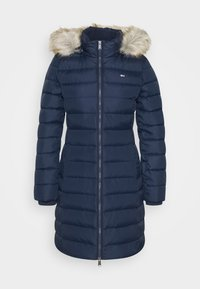 ESSENTIAL HOODED COAT - Down coat - twilight navy