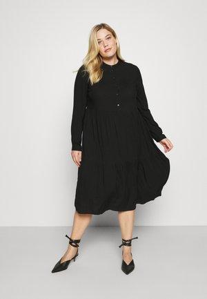 VMVICA CALF DRESS - Day dress - black