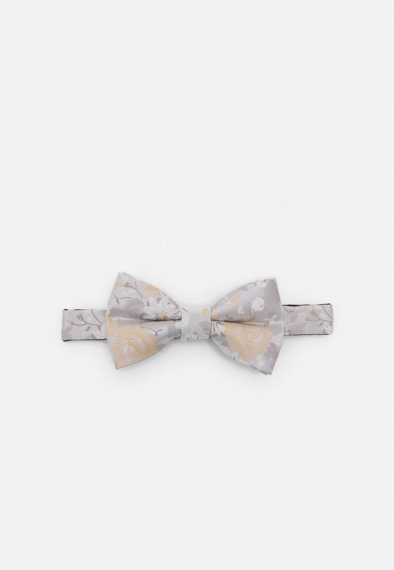Twisted Tailor - NILUS BOWTIE - Fluga - champagne/grey