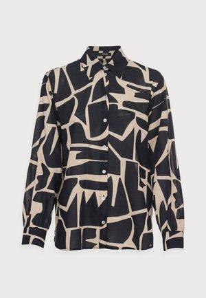 FUMINE - Button-down blouse - oak tree