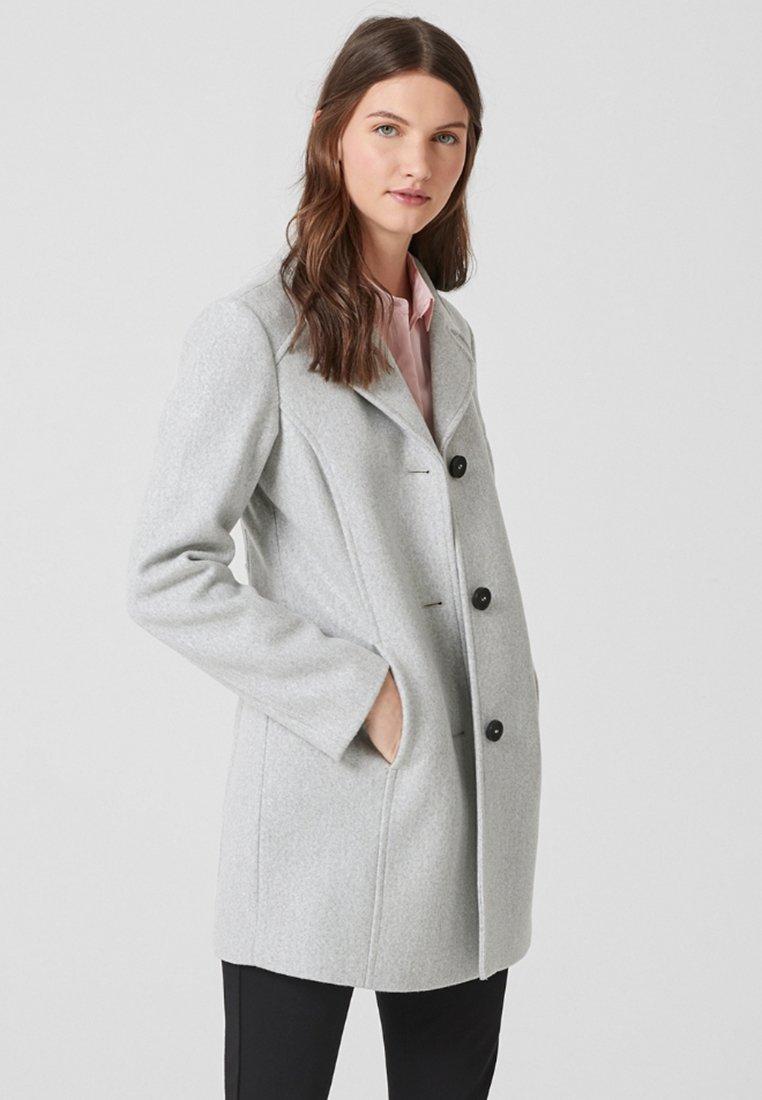 s.Oliver - Short coat - light grey melange