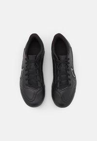 Nike Performance - JR. TIEMPO LEGEND 9 CLUB FG/MG UNISEX - Voetbalschoenen met kunststof noppen - black/iron grey/metallic bomber gry - 3