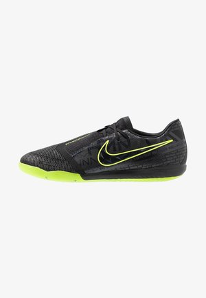 ZOOM PHANTOM PRO IC - Indoor football boots - black/volt