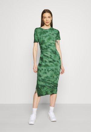 ENZOE DRESS - Jerseyjurk - faded green