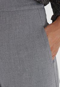 PULZ - PXVICTORIA SPECIAL FAIR OFFER - Trousers - medium grey melange - 3