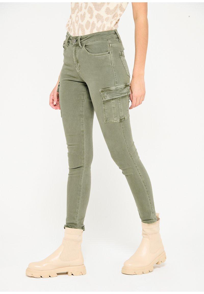 LolaLiza - Slim fit jeans - khaki