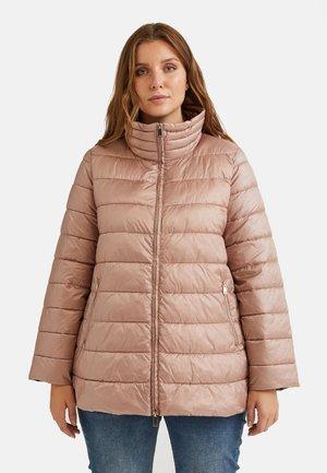 Down jacket - rosa