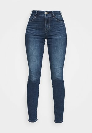 CURVY - Jeggings - dark atlantic
