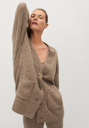 TALDORA - Cardigan - brown