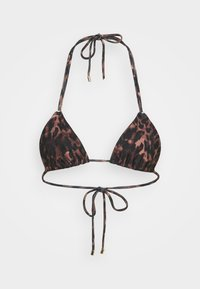 SALOME - Bikini top - brown