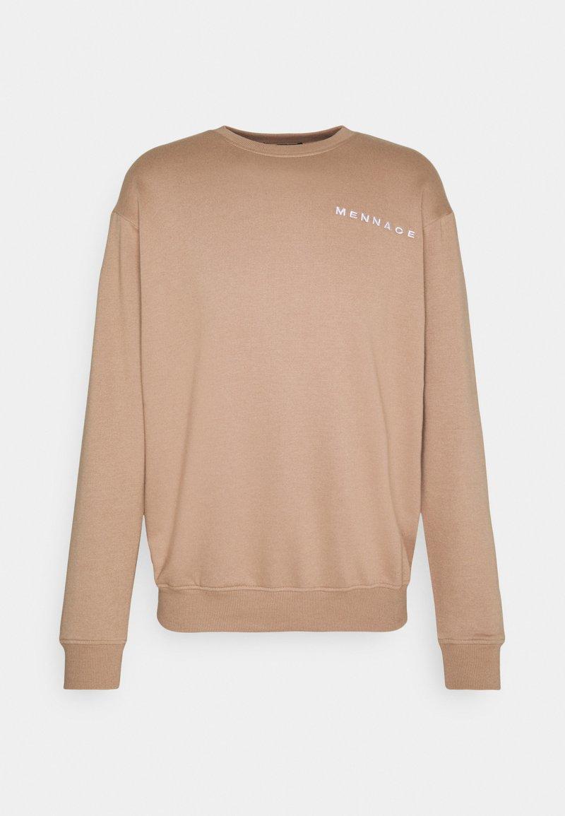 Mennace - ESSENTIAL UNISEX - Sweatshirt - sand