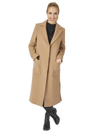 MODISCHER DESIGN - Classic coat - camel