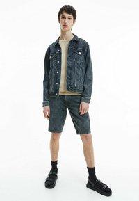 Calvin Klein Jeans - Denim jacket - denim black - 1