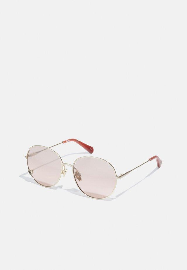 SUNGLASS KID UNISEX - Sluneční brýle - gold/pink
