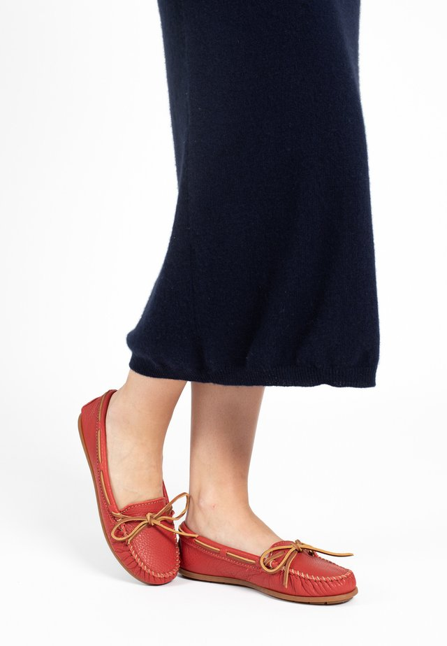 Bootschoenen - red