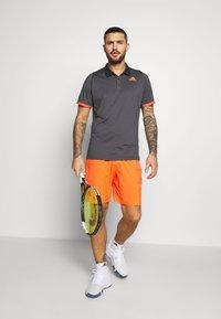 adidas Performance - Piké - grey/orange - 1