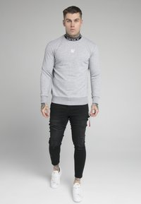 SIKSILK - ESSENTIAL HIGH NECK - Mikina - grey - 0