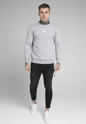 ESSENTIAL HIGH NECK - Felpa - grey