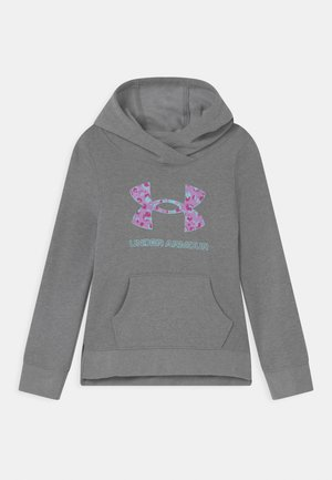 RIVAL LOGO HOODIE - Mikina s kapucí - steel medium heather