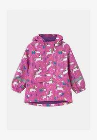 Frugi - PUDDLE BUSTER - Waterproof jacket - pink - 0