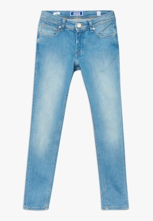 JJILIAM JJORIGINAL AGI JR - Vaqueros slim fit - blue denim